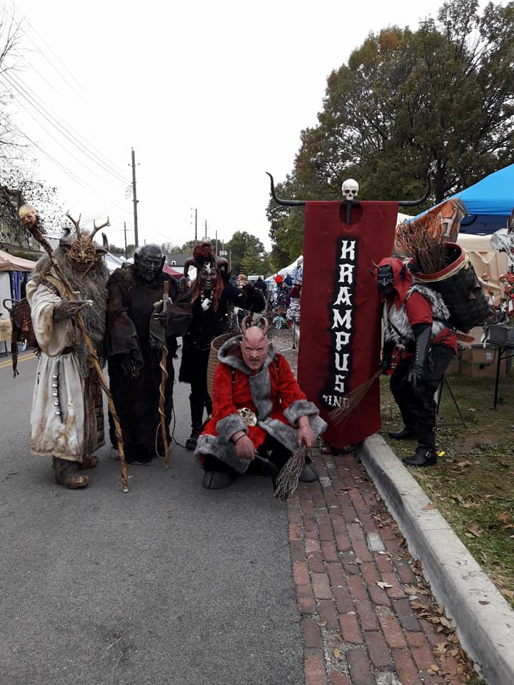 Irvington Halloween Festival | Krampus of Indianapolis